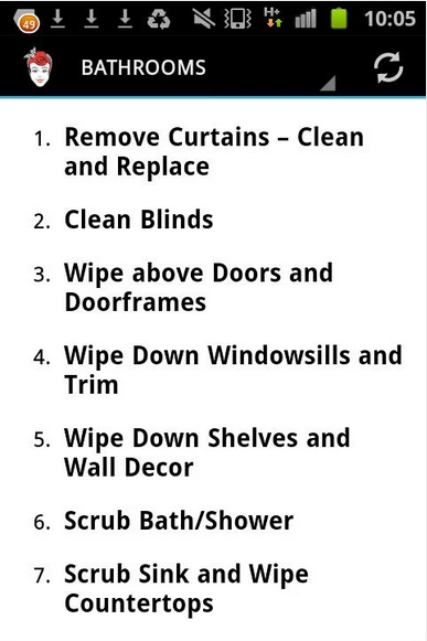 Spring Cleaning Checklist Feature