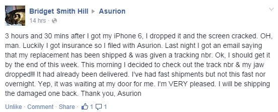 iPhone Customer Comment