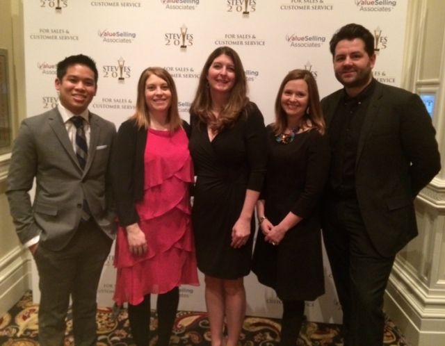 The Asurion team at the Stevie Awards Gala