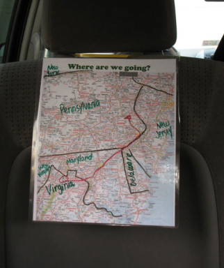 Travel Road Map