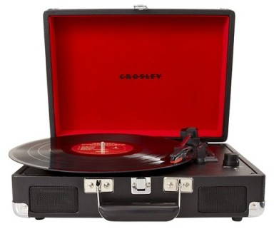 Crosley's Cruiser Turntable