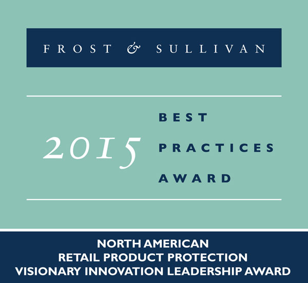 frost and sullivan 2015 retail product award