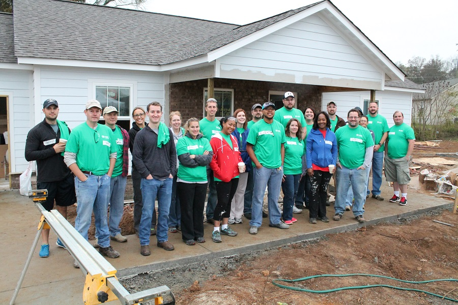 Giving Back: Asurion Participates in Habitat Build