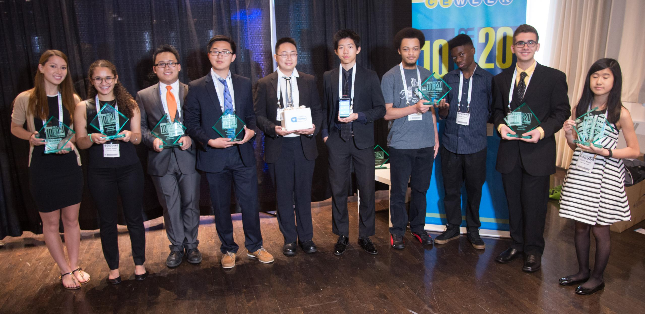 "Asurion Co-Sponsors CE Week's ""10 Under 20 Young Innovators to Watch"" Awards"
