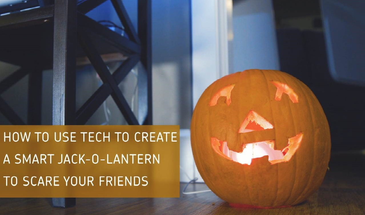How to Build a High Tech Jack-O-Lantern (Video)