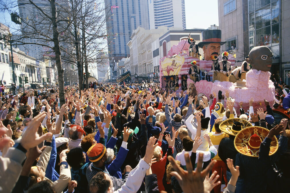 Mardi Gras Proves to be a Dangerous Holiday for Phones