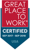 2017/2018 Great Place to Work