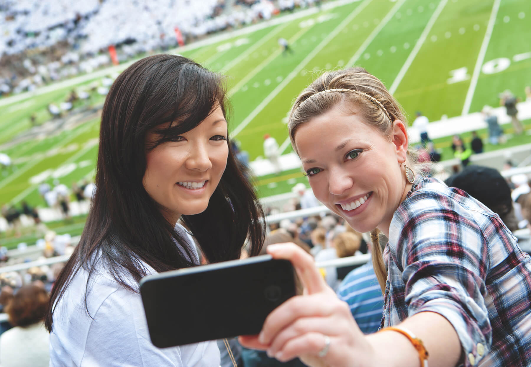 Five ways your phone can improve your game day experience