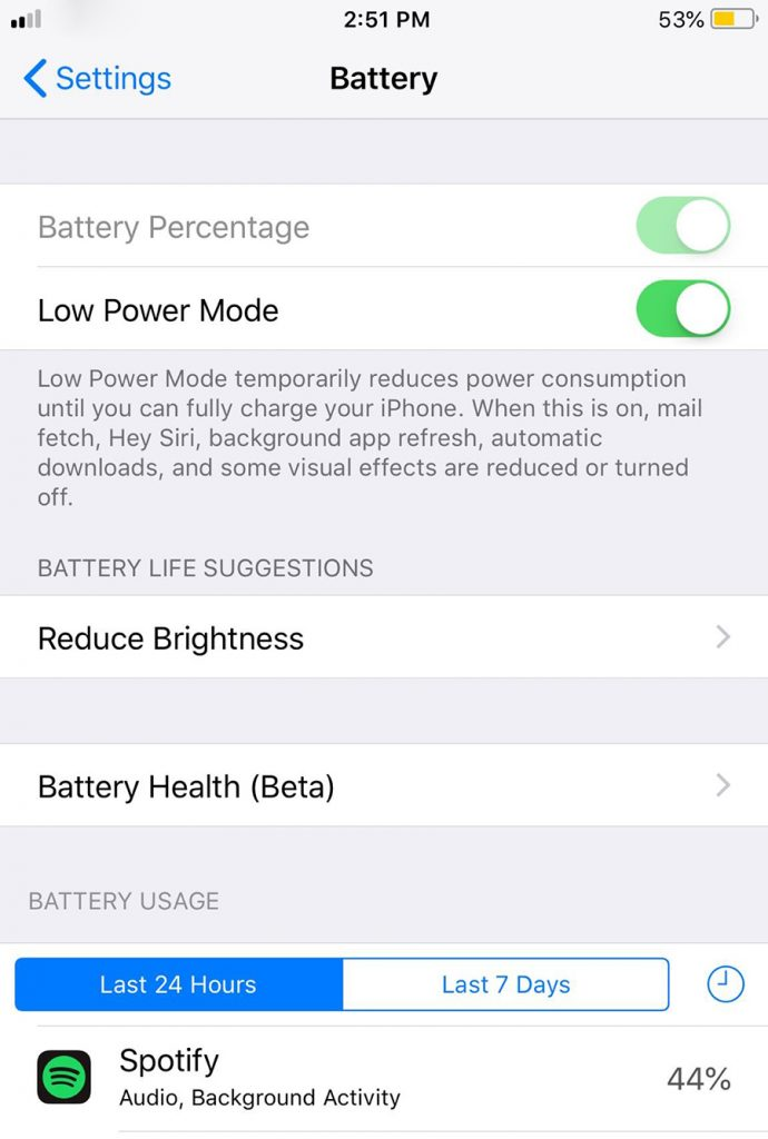 How to improve iPhone battery life