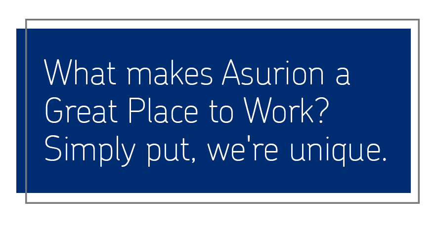 Asurion is a Great Place to Work and offers tech careers