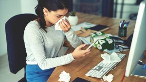 Disinfect your tech to keep germs at bay this flu season