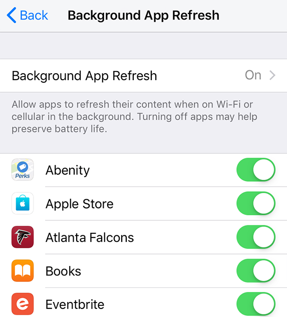 How To Turn Off Background App Refresh On Android Iphone Asurion