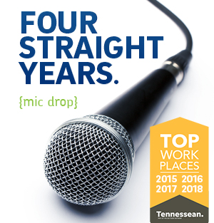 Four Straight Years Top Work Places
