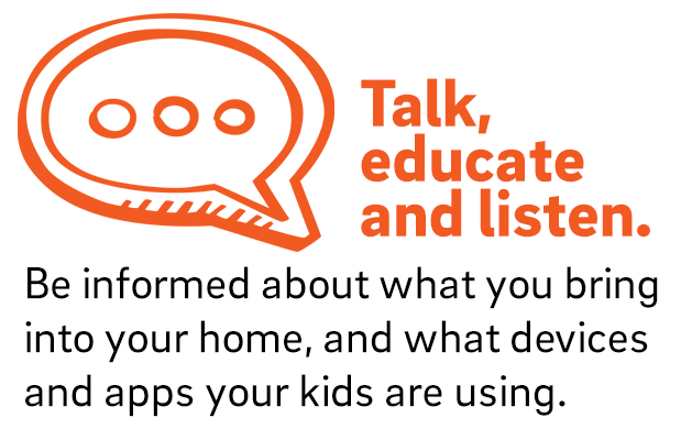 Be informed about what kids are doing online