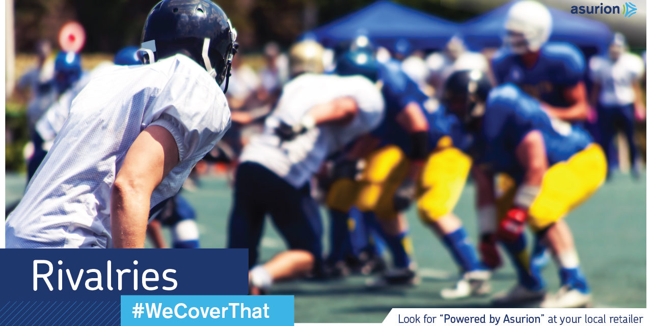Prevent a Game Day Fumble with an Asurion Protection Plan