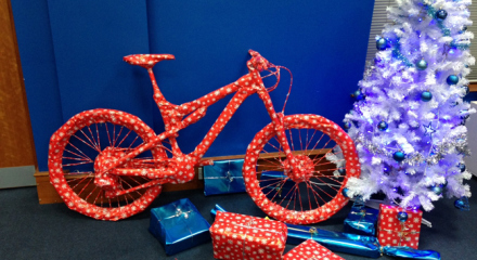 How in the World Do You Wrap a Bike?