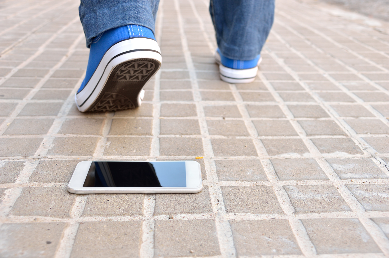 The Craziest Way to Lose a Cellphone