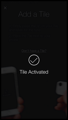 Activate the Tile