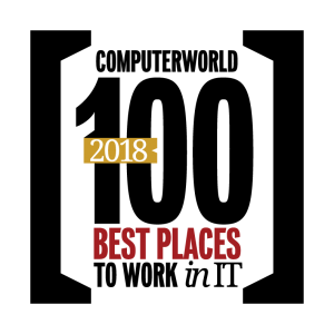 best places to work in IT award logo