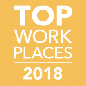 top workplace award logo