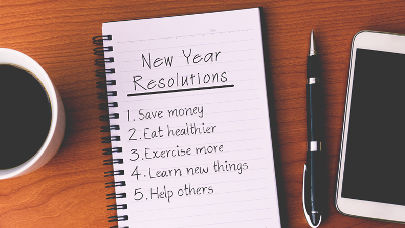 Stick to your New Year's resolutions with the help of your tech