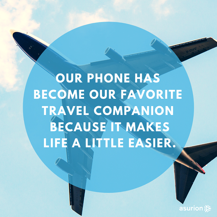 How your phone can help you travel without stress