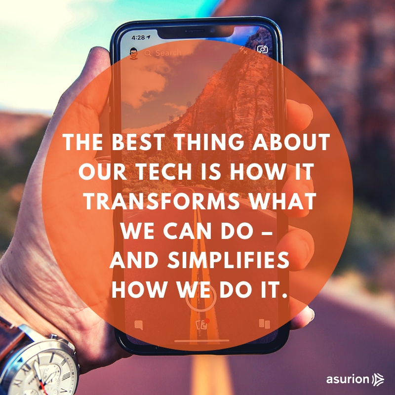 Technology transforms the way we do things