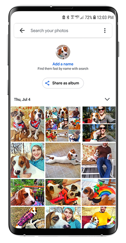 How to quickly find photos on your Android phone