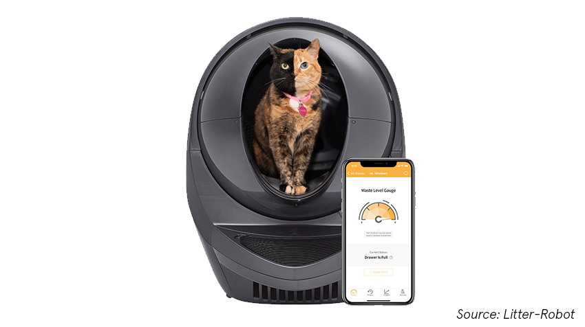 automatic self cleaning litter box