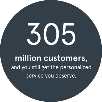 305 million asurion customers