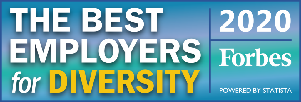 Forbes Bst Employers for Diversity 2020 logo