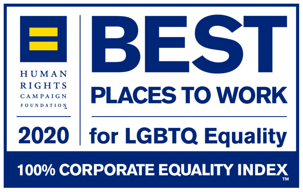 HRC CEI Best Places to Work Logo