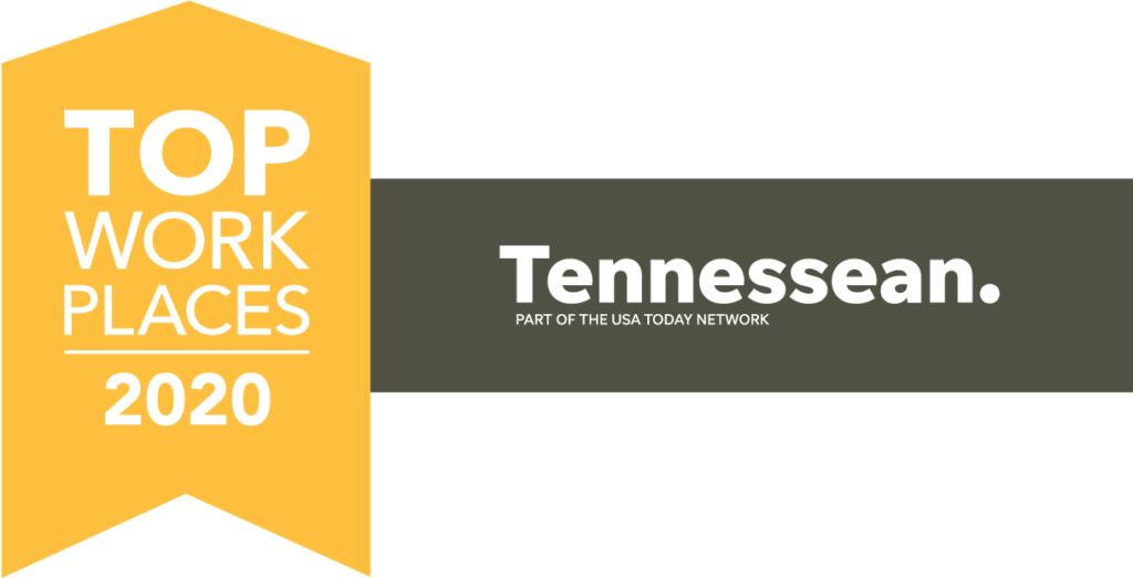 Tennessean Top Workplace List Logo