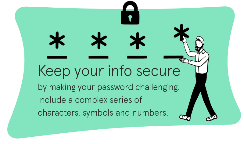 Tip for creating strong password
