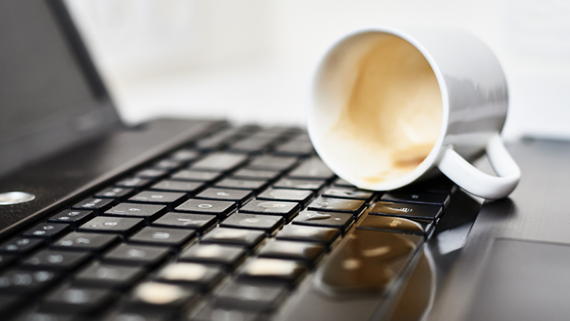 Broken laptops halt productivity. What does a company do for a remote employee?