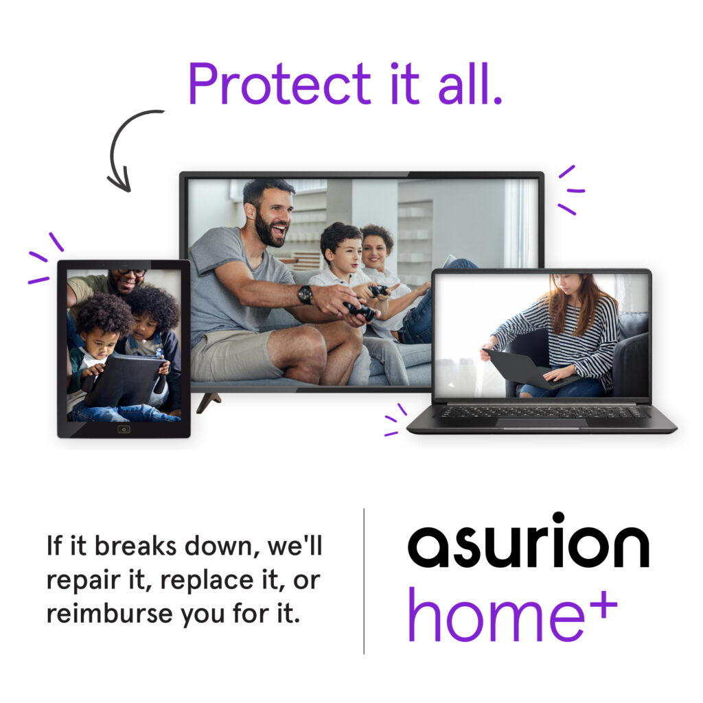 Amazon Asurion Home+ Homepage