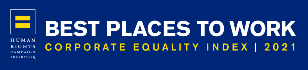 HRC CEI 2021 Best Place to Work Logo