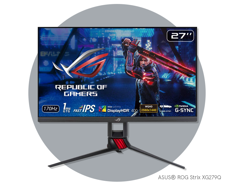 Best gaming monitor ASUS